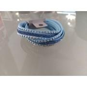 Náramek - Praktik světlé modrý