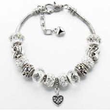 Náramek - Charm Bracelets White