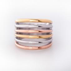 Prsten Stainless Steel Ribs